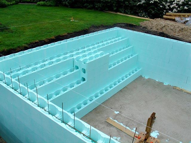 Polystyreen Blok Zwembad